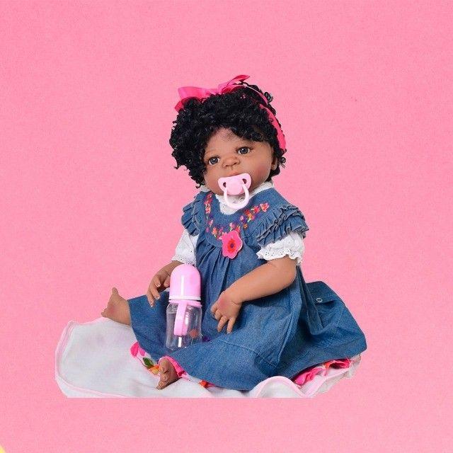 Bebês Reborn 100% silicone realista em promoção - Outros modelos a pronta entrega - Foto 4