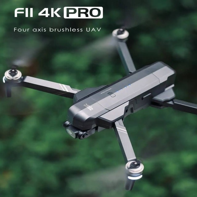 Drone SJRC F11 Pro 4k GPS Maleta Gimbal Estabilizador Eletrônico de imagens e EIS 1500mts