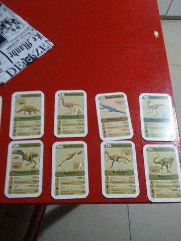 Cartas de yu gi oh - trunfo carros _ trufo dinossauro - Foto 2