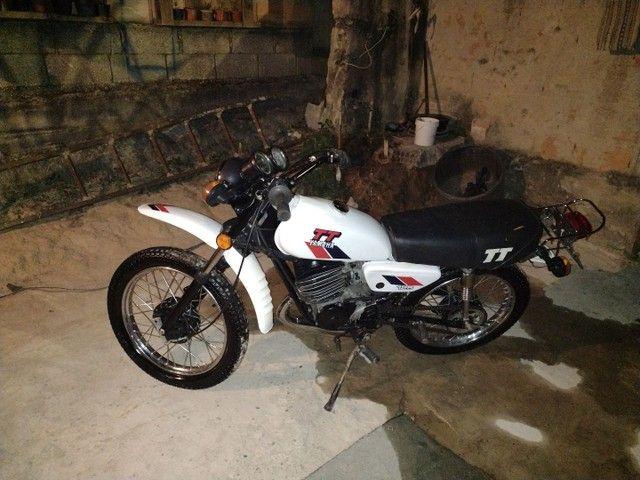 Moto Yamaha Tt125 ano 1979 - Foto 2