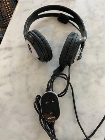Headphone Microsoft LifeChat LX-3000, fora da caixa, mas sem uso, na garantia