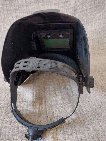 Máscara de solda V8 com escurecimento automático - Foto 3