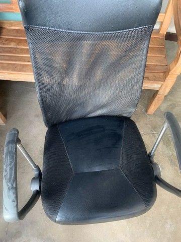 Cadeira de escritório, cadeira presidente  - Foto 2