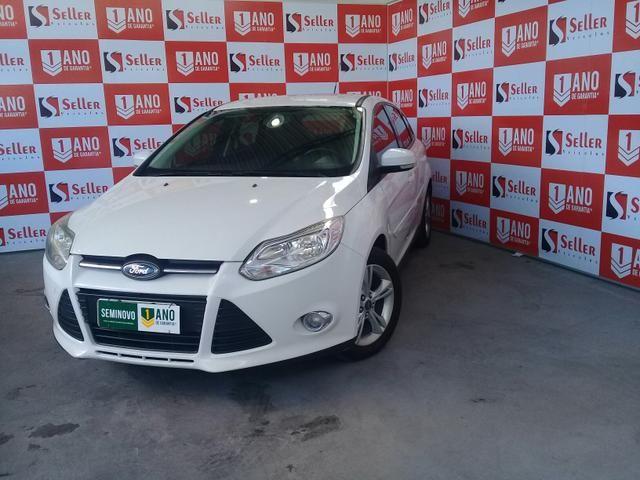 Ford Focus Hatch SE 1.6 2014 - 1 ANO DE GARANTIA *