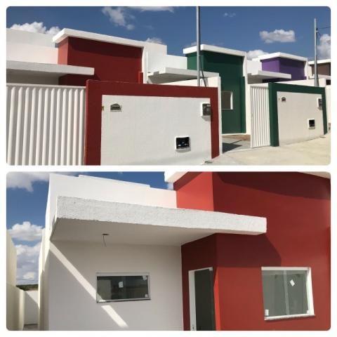 Casa pronta com escritura grátis em Campina Grande