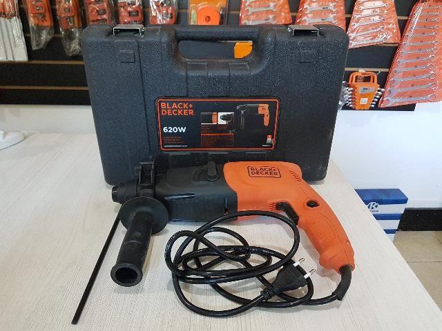 Martelete Perfurador SDS 620W KD620K-BR Black & Decker - 220v