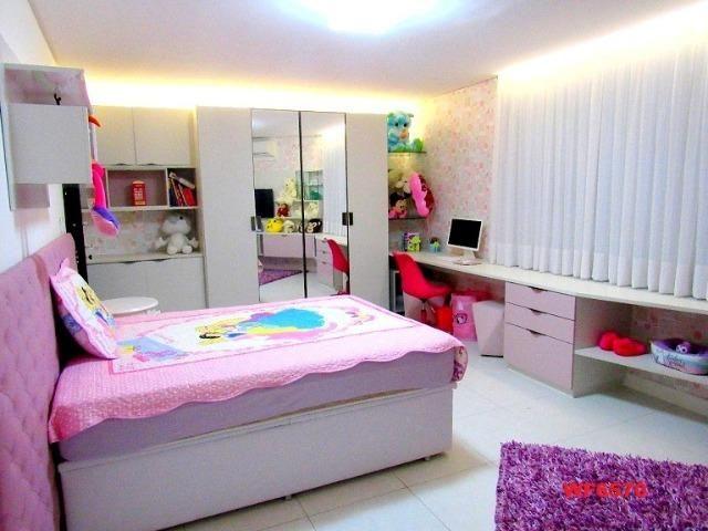 Mansão com 5 suítes, casa duplex, projetada e mobiliada, 7 vagas, rua privativa, Sapiranga - Foto 12