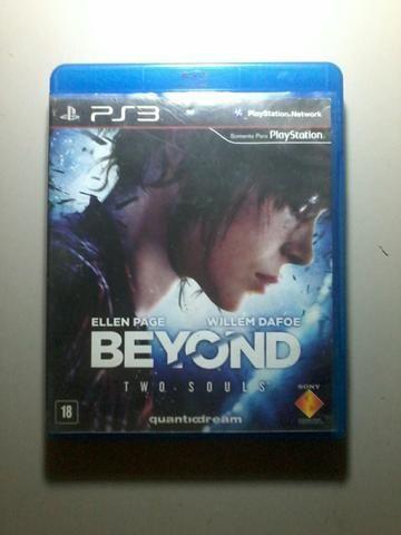 Vendo jogo Beyond two souls para ps3