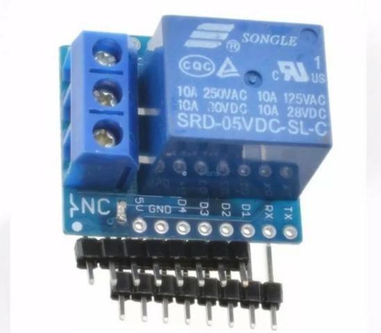 COD-AM126 Rele Shield P/ Wemos D1 Mini - Esp8266 Wifi Arduino Automação Robotica - Foto 4
