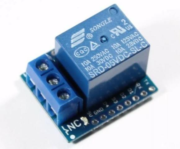 COD-AM126 Rele Shield P/ Wemos D1 Mini - Esp8266 Wifi Arduino Automação Robotica - Foto 2