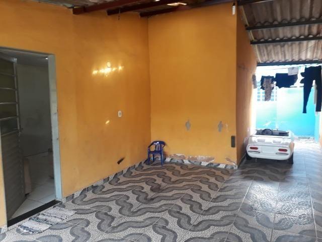 Vd casa 2 quartos, com casa de fundos de 1 quarto, R$ 210 mil aceito financiamento - Foto 4
