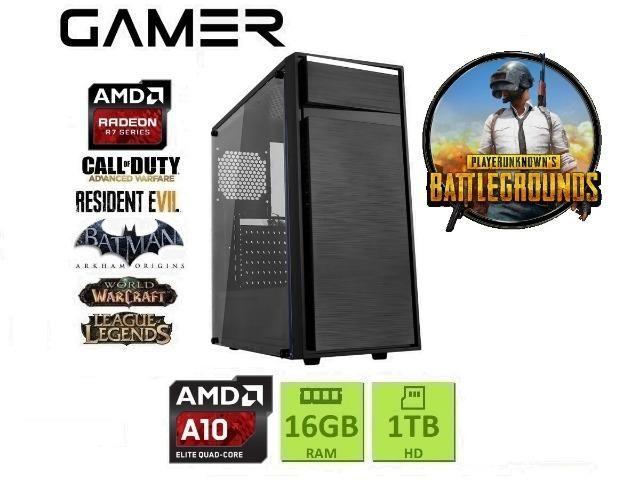 PC Gamer| AMD A10| 16Gb Ram| Radeon R7| 1TB