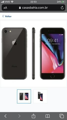 Iphone 8 preto - Foto 2
