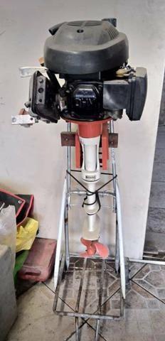 Motor para Barco, Bote e Caiaque de 6.5 HP aceito ofertas - Foto 2
