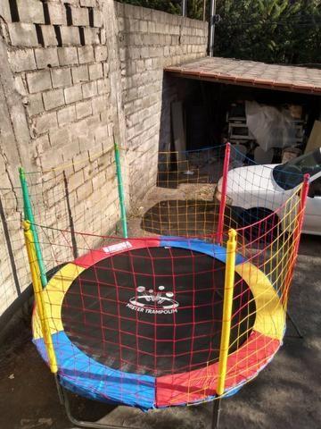 Combo, Locação de brinquedos 2 em 1, cama elástica com piscina de bolas