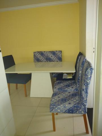 Vendo linda mesa de 6 cadeira - Foto 2