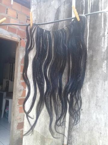 Mega hair humano 60 cm ondulado - Foto 3