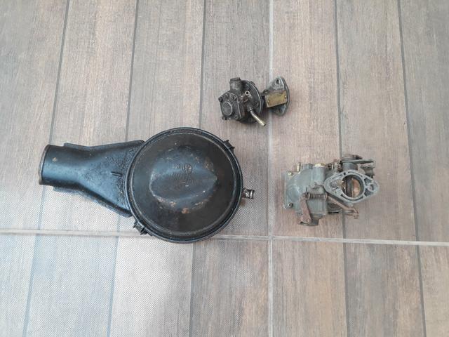 Vendo carburador de fusca buzina bibi - Foto 2