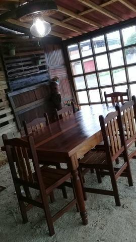 Mesa com 6 cadeiras - Foto 4