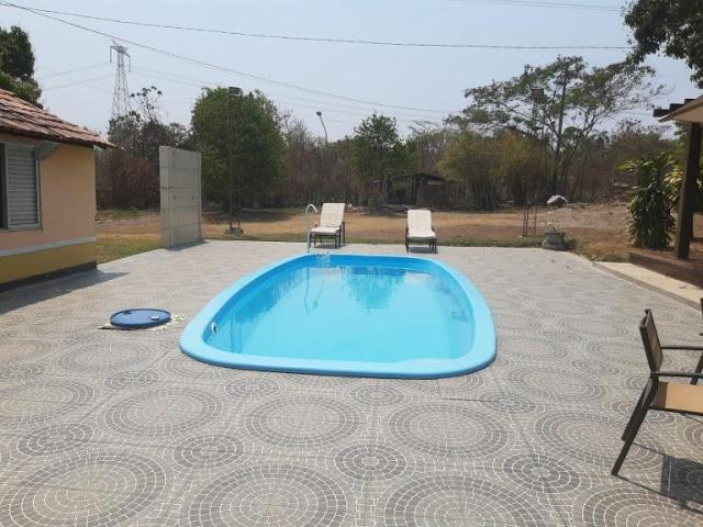 Chacara com piscina privativa no coxipo do ouro venda ou troca!! - Foto 10