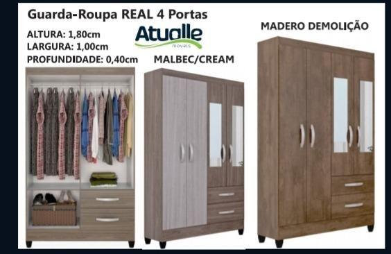 Roupeiro Real 4pts