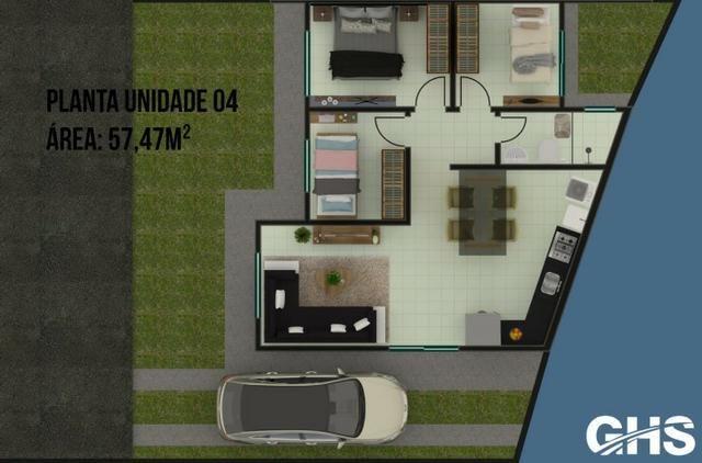 Casas novas 3 dormitorios bairro jd ceu azul campo largo, entrada facilitada - Foto 7