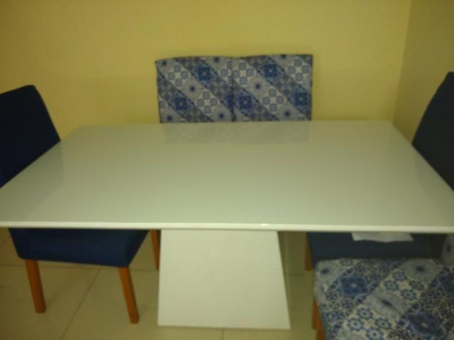Vendo linda mesa de 6 cadeira - Foto 3
