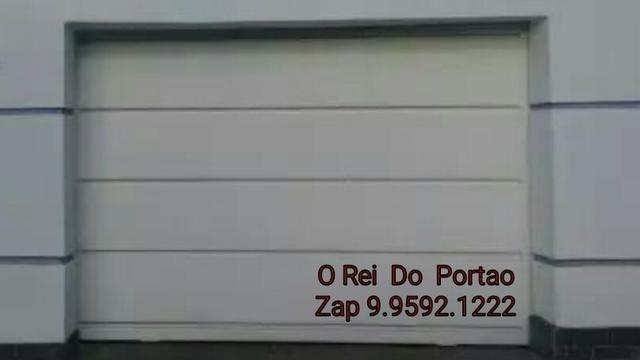 Portão Garagem Pronta Entrega - Direto fabrica toda bh e região - Foto 4