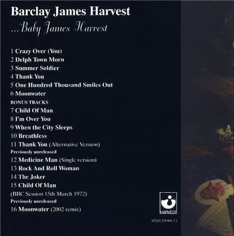 Barclay James Harvest - Baby James Harvest - Foto 3
