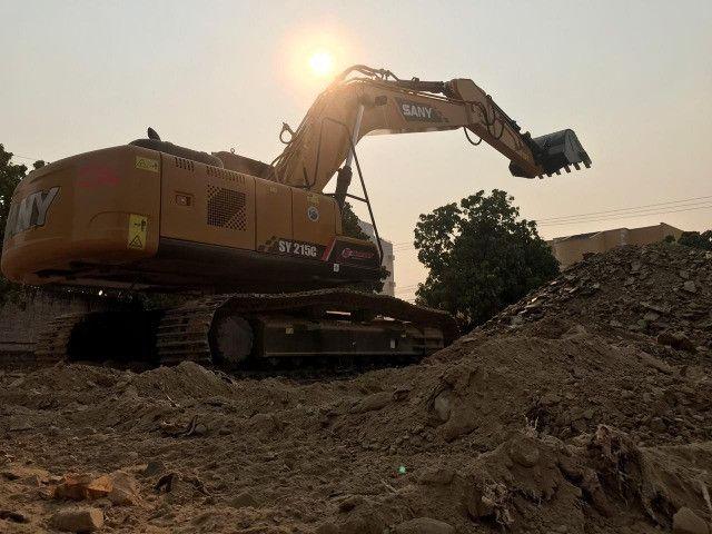 Escavadeira Sany SY215C usada - Foto 4