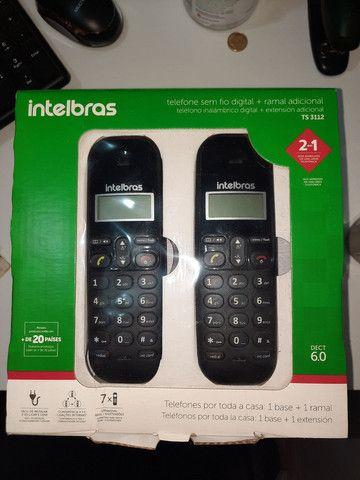 Vendo dois telefones fixo mesma linha