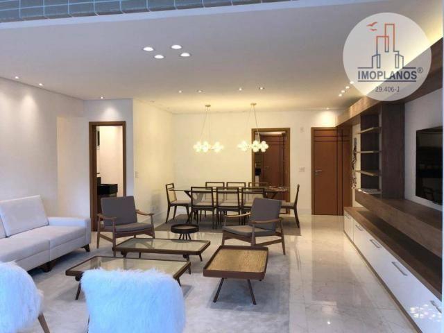 Belíssimo apartamento com 3 dormitórios à venda, 124 m² por R$ 837.585 - Canto do Forte -  - Foto 6