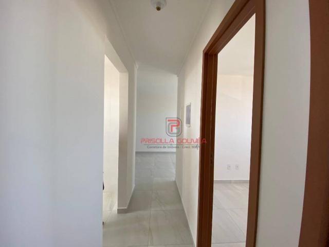 Apartamento novo, 2 quartos, andar alto, varanda gourmet e 2 vagas de garagem - Foto 15