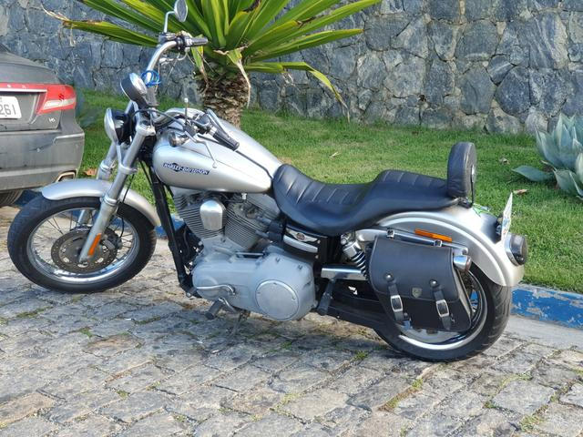 Harley Davidson Dyna Super Glide 1600cc 2008 - Somente Venda - Foto 2
