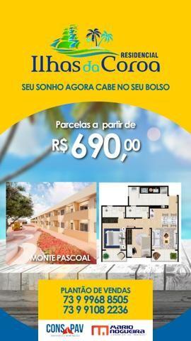 """Apartamento (Moradia ou Investimento) em """"Porto Seguro"""" Bahia- Na Planta! - Foto 3"""