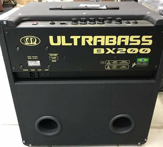 Amplificador Cubo De Contra Baixo Meteoro Ultrabass BX200 - Foto 3