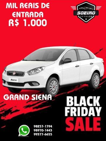 GRAND SIENA 2018 ENTRADA R$1.000