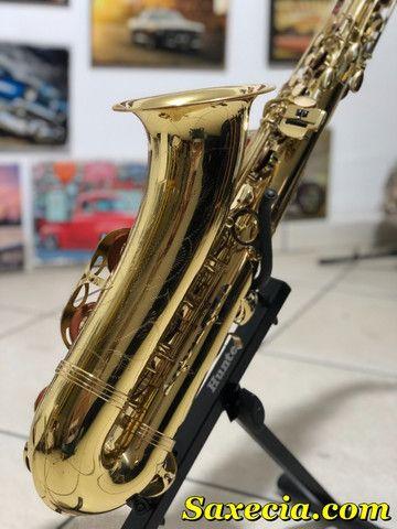 Sax Saxofone Tenor (Sib) Revisado, Higienizado, - Foto 2