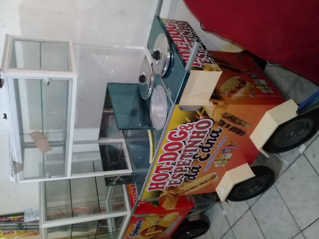 Carro de hot dog - Foto 5
