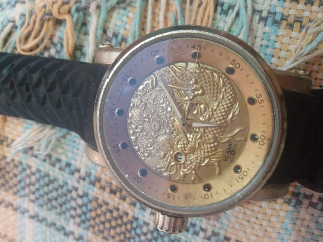 Relógio Invicta Yakuza Usado - Foto 3