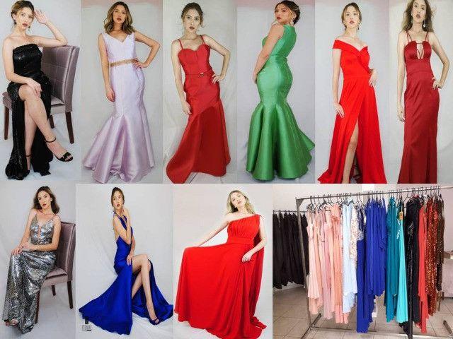 Vestidos de alta costura junto com ateliê e maquinas de confecção de porte pequeno - Foto 2