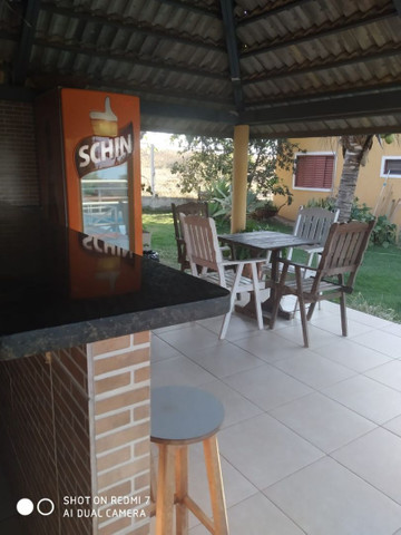 Loca-se casa com 4/4, quiosque, piscina aquecida, wi fi,  a beira do lago de Corumbá IV. - Foto 4