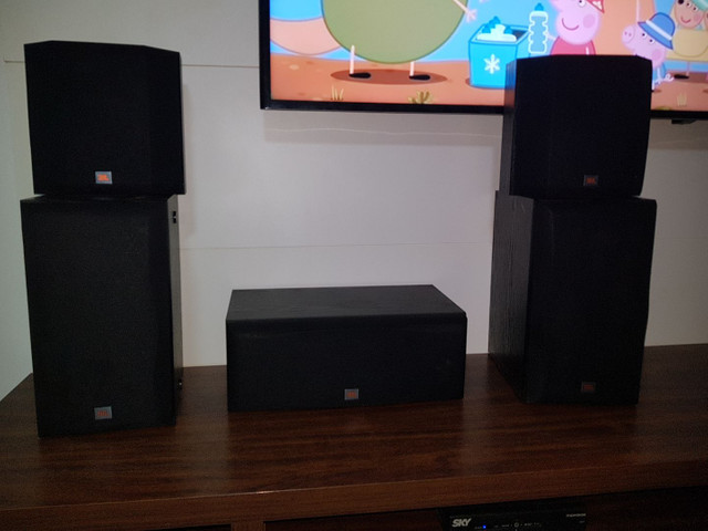 Caixas CINEMA 5.1 JBL Harman