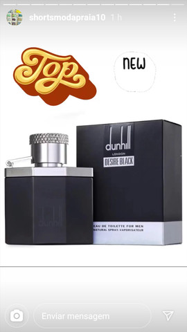 Perfume Desire Black Dunhill Masculino Eau de Toilette 30ml - Foto 2