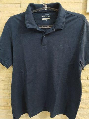 Camisa masculina Siberian tamanho M - Foto 2