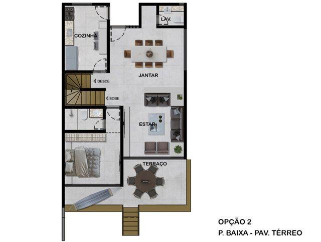 Casas Alto Padrão em Poçoda Panela 258m² 4 ou 5 suites jardins privativos separados - Foto 6