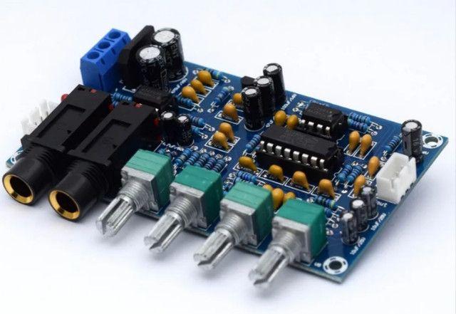 Pré Amplificador Microfone Karaokê De Eco Reverberação