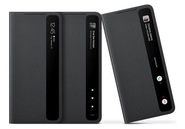 Capa Original Smart Clear View Cover Samsung Galaxy S21