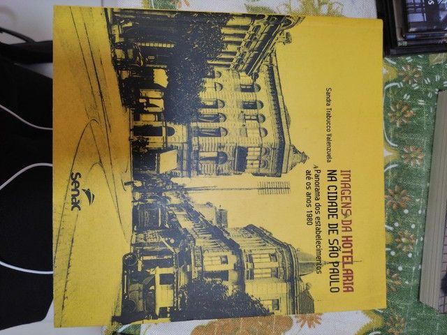 Livro imagens da hotelaria na cidade de São Paulo