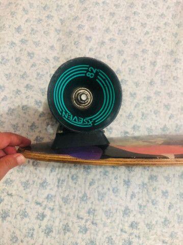 skate long usado  - Foto 3